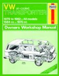 Haynes workshop manual VW Type 25 1600cc and 2000cc air cooled